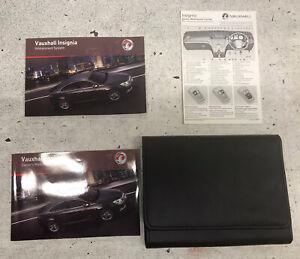 Vauxhall Insignia A Owners Handbook Manual  Audio Book. + Case. 2009 - 2013.  B1