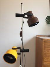 Vintage Mid Century Floor Lamp Made In Denmark Retro Standing Light