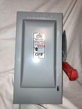 Siemens Hf361 Disconnect Safety Switch 30amp 600v Ac 250v Dc Unpunched