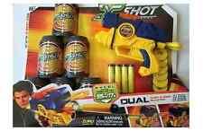 X-Shot Dual Dart & Disc Blaster / Gun - Excel Series - Darts fire up to 17metres