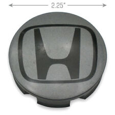 "Honda Center Caps Hubcaps Insight Fit DARK GREY 44732-S5A-0000 85T 15"" Wheel OEM"