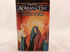 VG+ The Gods in Anger, The Omaran Saga 4 by Adrian Cole 1991 Avon Paperback