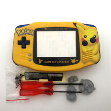 Big Pika-chu Yellow Housing Shell Case cover for Game Boy Advance GBA Console