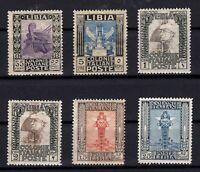 P136190/ ITALIAN LYBIA / LOT 1921 – 1929 MINT MNH CV 440 $