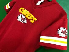 J630/110 NFL Kansas City Chiefs Franklin Mesh Jersey Top Youth Medium 10-12