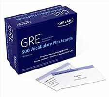 GRE Vocabulary Flashcards Proprietary, Third Edition CARDS 2020 by Kaplan