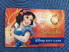 Snow White Disney gift card collectible only-  no $ value or points on it