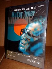 McCOY TYNER Live at the Warsaw Jazz Jamboree 1991 DVD NUOVO SIGILLATO!!!