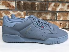 6ecafe2e1ec9b Men s Adidas Originals Yeezy Powerphase Calabasas Grey Leather Size 13  CG6422