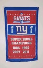 703b1cbb Super Bowl New York Giants NFL Banners for sale   eBay