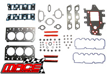 MACE VALVE REGRIND GASKET SET HOLDEN COMMODORE VT VX VY L67 SUPERCHARGED 3.8L V6