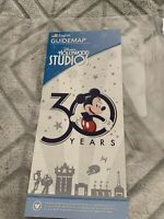 Disney Hollywood Studios 30th ANNIVERSARY COVER 2019 Park Guide Map