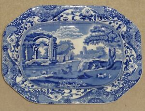 Large antique COPELAND 'Spode's Italian' large platter