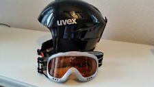 Uvex Skihelm und Skibrille Kinder 4-7 Jahre TOP Zustand
