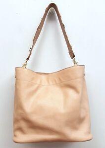 ENVY Beige Tan Pebbled Vegan Leather Floral Applique Strap Hobo Shoulder Handbag