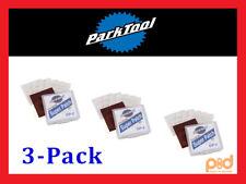 3 x Park Tool GP-2 BICYCLE 3M PATCH KITS (6 /kit) TIRE/TUBE REPAIR Glue-less NEW