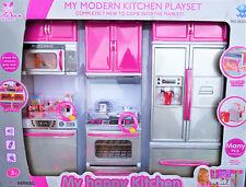 Küche für Barbie puppen Neu mit Licht und Soundeffekten