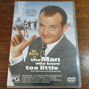 The Man Who Knew Too Little DVD R4 LIKE NEW FREE POST Bill Murray