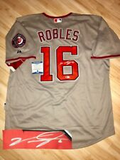 Victor Robles Hand Signed Washington Nationals Jersey BAS Beckett Cert