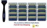 17 Schick Hydro 5 Sensitive Razor Blades Shaver Handle Cartridges Refills 4 8 16