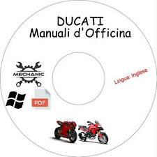 DUCATI MOTO/SCOOTER - Guida Manuali d'Officina - Riparazione,Manutenzione!