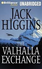 Jack Higgins VALHALLA EXCHANGE Unabridged CD *NEW* FAST 1st Class Ship!