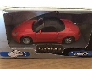 Auto Club Porsche Boxster Toy Car