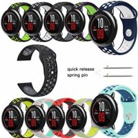 New 22MM Sports Silicone Bracelet Watch Bands For Moto 360 2nd Gen Man 46mm