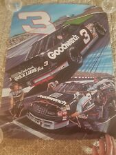 DALE EARNHARDT  GOODWRENCH LUMINA POSTER  SAM BASS 18X24