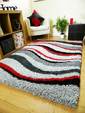 SMALL EXTRA LARGE RUG NEW MODERN SOFT THICK SHAGGY RUGS NON SHED SHAG RUNNERS