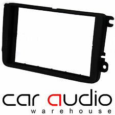Connects2 VW Sharan 2010 MK2 on Car Stereo Double Din Fascia Panel