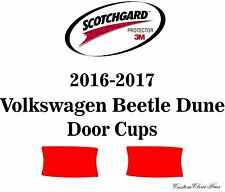 3M Scotchgard Paint Protection Film Pre-Cut 2016 2017 Volkswagen Beetle Dune