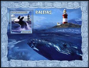 Mozambique 1788 S/S, MNH Lighthouses Et Baleines, 2007