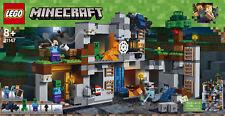 Lego Minecraft 21147 - Aventura In Den Rocas, Nuevo/Embalaje Original