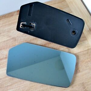 Mercedes-Benz W116 S-Class Right (Driver's) Side Mirror & Back Plate 1972-1980