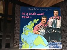 "WENDINGER BAND ""It's a small, small world"" SEALED POLKA LP-1 of Last 2!!!!"