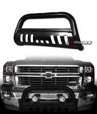 For 2007-2014 Escalade/Chevy Avalanche Black Bull Bar Brush Bumper Grille Guard