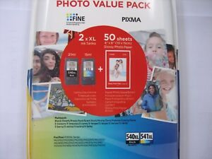Value Pack Bundel Original Canon PG-540 XL Black+CL-541XL Color New Dp