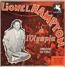 """LIONEL HAMPTON """"A L'OLYMPIA VOL. 2"""" 50'S EP VERSAILLES 139"""