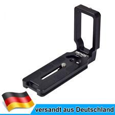 MENGS MPU-100 L Bracket Schnellwechselplatte Für DSLR Kamera mit Arca-Swiss