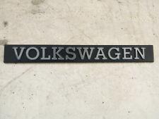 VW GOLF MK2 VOLKSWAGEN REAR BADGE EMBLEM 171853685A