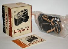 """EXC! COLLECTIBLE! SUPER RARE! RUSSIAN USSR """"FED MICRON 2"""" camera, FULL SET"""