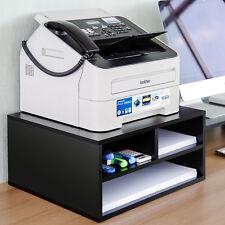 3-Tier Printer Shelf/Stand Desktop Organizer Wood File Office Supplies Storage