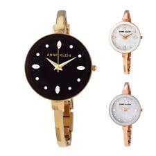 Anne Klein Crystal Dial Ladies Watch Set - Choose color