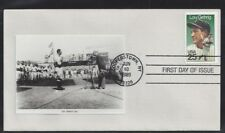 """#2417 Lou Gehrig FDC with """"Lou Gehrig Day"""" photo cachet"""