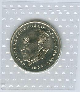 Frg 2 DM Konrad Adenauer 1974 Dfgj - 1987 Dfgj Uncirculated Obh (56 Coins