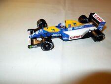 MINICHAMPS Formel 1 F1 Modellauto WILLIAMS RENAULT FW 014B Patres weiß/blau 1:43