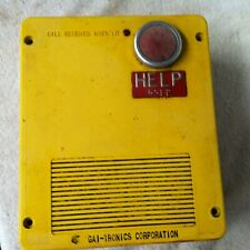 Used Hubbell Gai-Tronics Single Button Emergency Telephone Model 293 $2628 Value