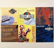 SOLDAT LOUIS ♦ Lot 6 x CD Single ♦ PROMOS & RARES / LA BRETAGNE / C'EST UN PAYS