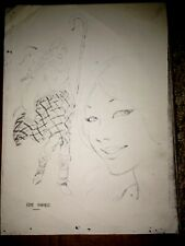 Kate Hunter Character Design Stat proof sheet Joe Kubert DC Female Scots Hero